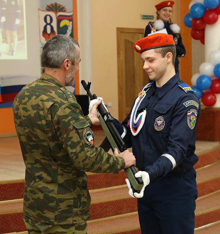 Посвящение в кадеты 2015