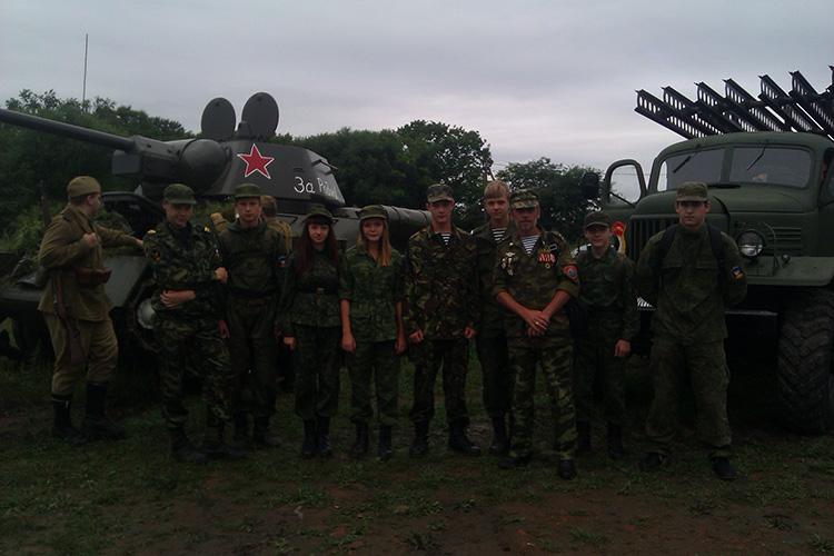 Военно-историческая реконструкция во Владивостоке