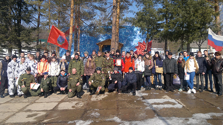 В Арсеньеве прошла военно-патриотическая игра «Защитник Отечества»