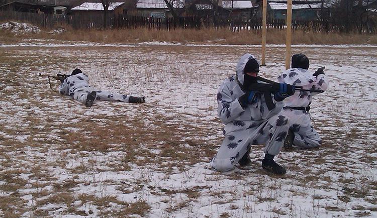 В 'Спецназе' начался зимний период обучения курсантов