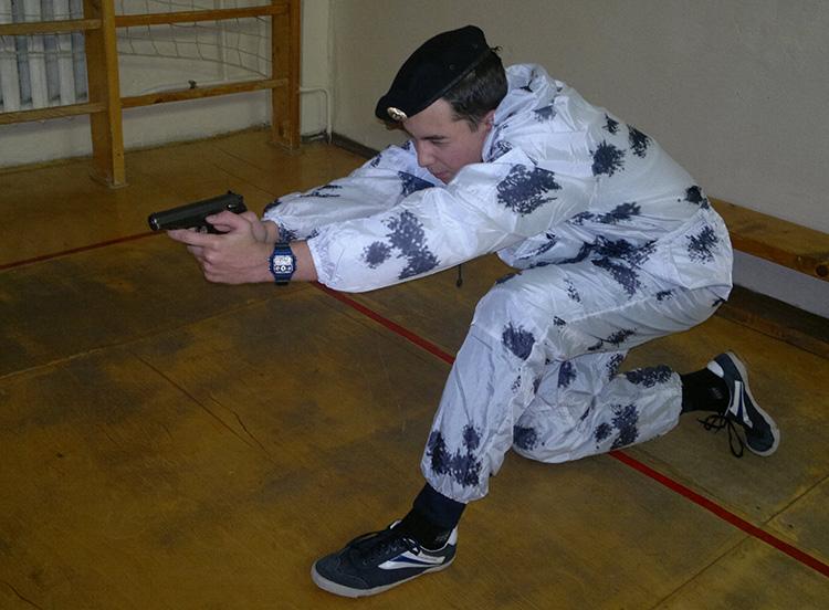 Зимний период обучения в Приморском Спецназе