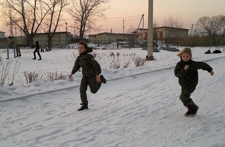 Детский спецназ Приморья