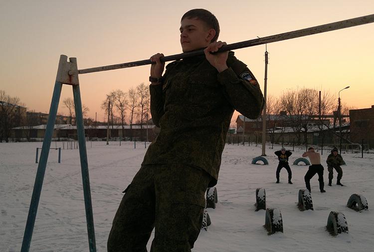 Владимир Киселев - командир поисковой группы