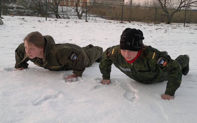 В спецназе не только мальчики