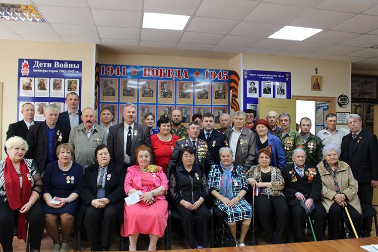 В арсеньевском городском Совете ветеранов состоялась церемония вручения юбилейных знаков